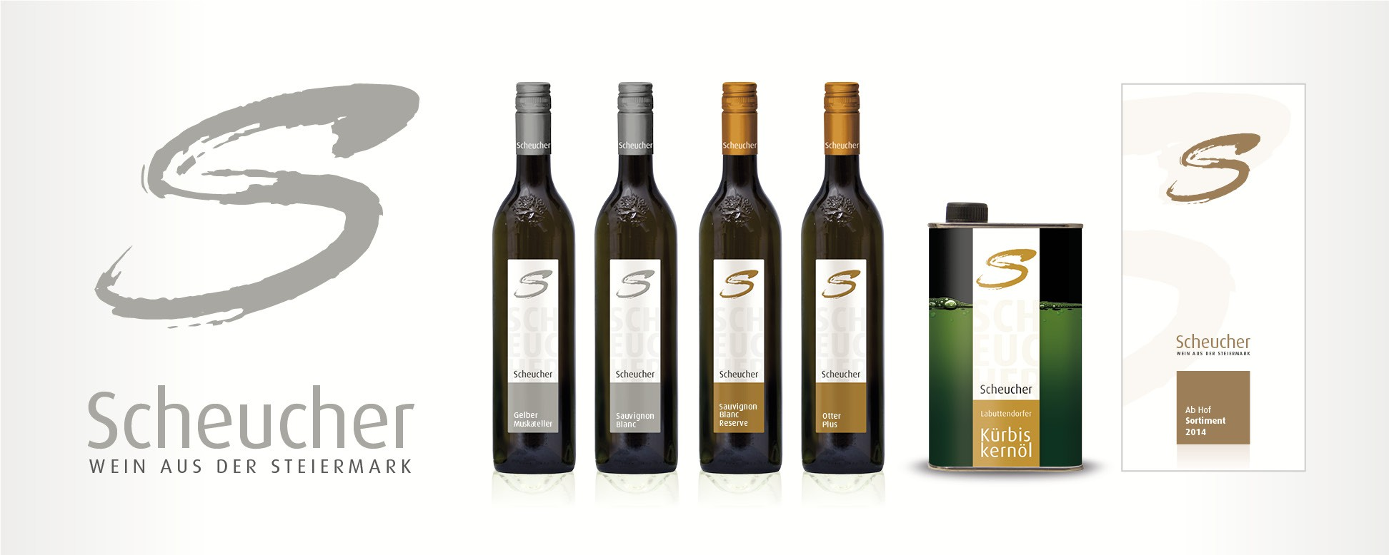 Neues Corporate Design und Etikettengestaltung fu00fcr das Weingut ...